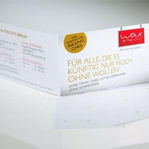 YOUR SMART BONUS CARD Wax in the City