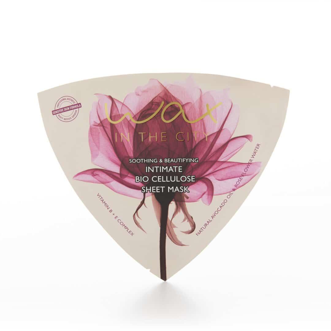 Eine organische Sheet-Maske für den Intim- & Bikini-Bereich